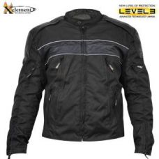 Mens Tri-Tex Fabric and Leather Level-3 Armored...